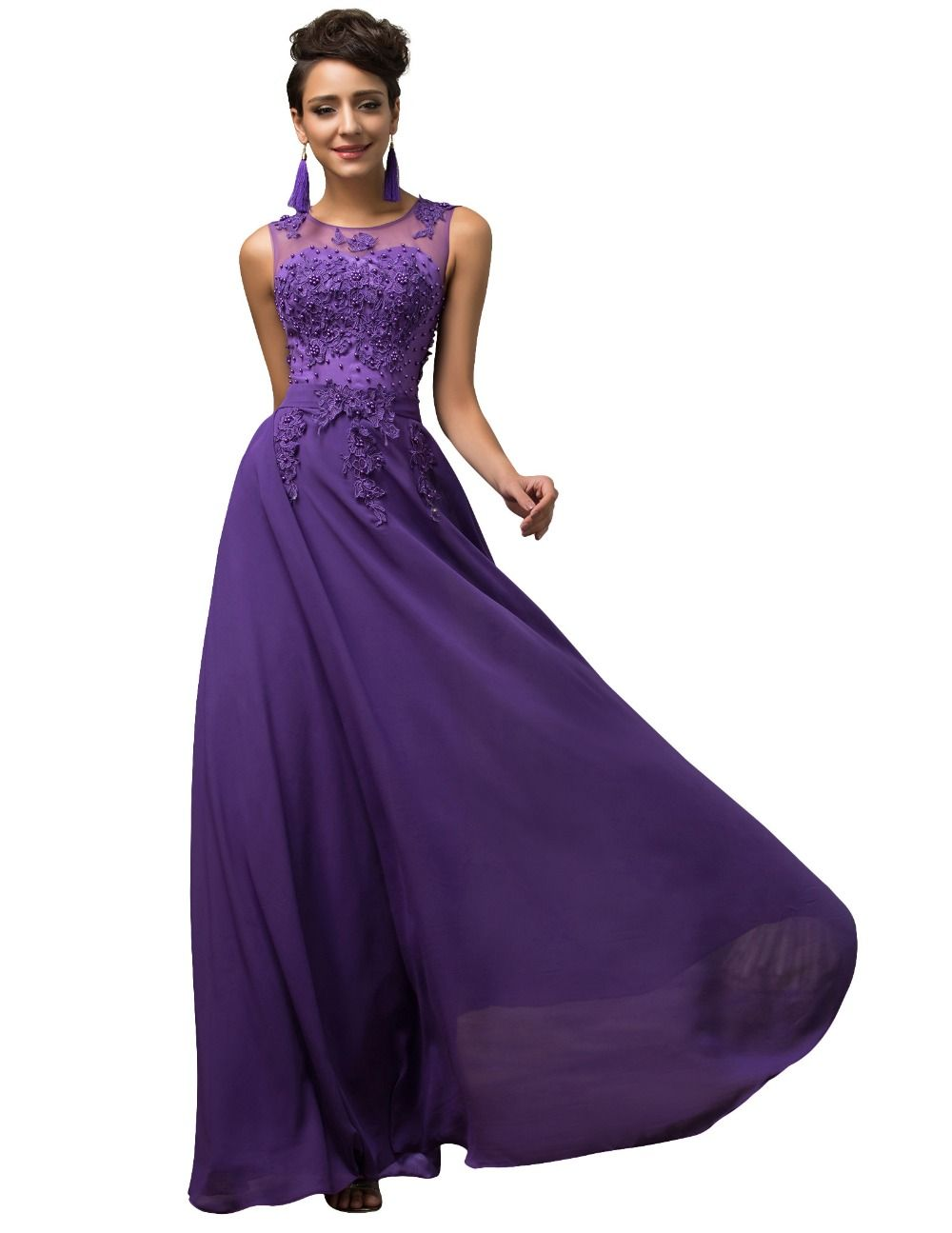 Long Party Dresses Robe De Soiree Plus Size Formal Occasion Dresses ...