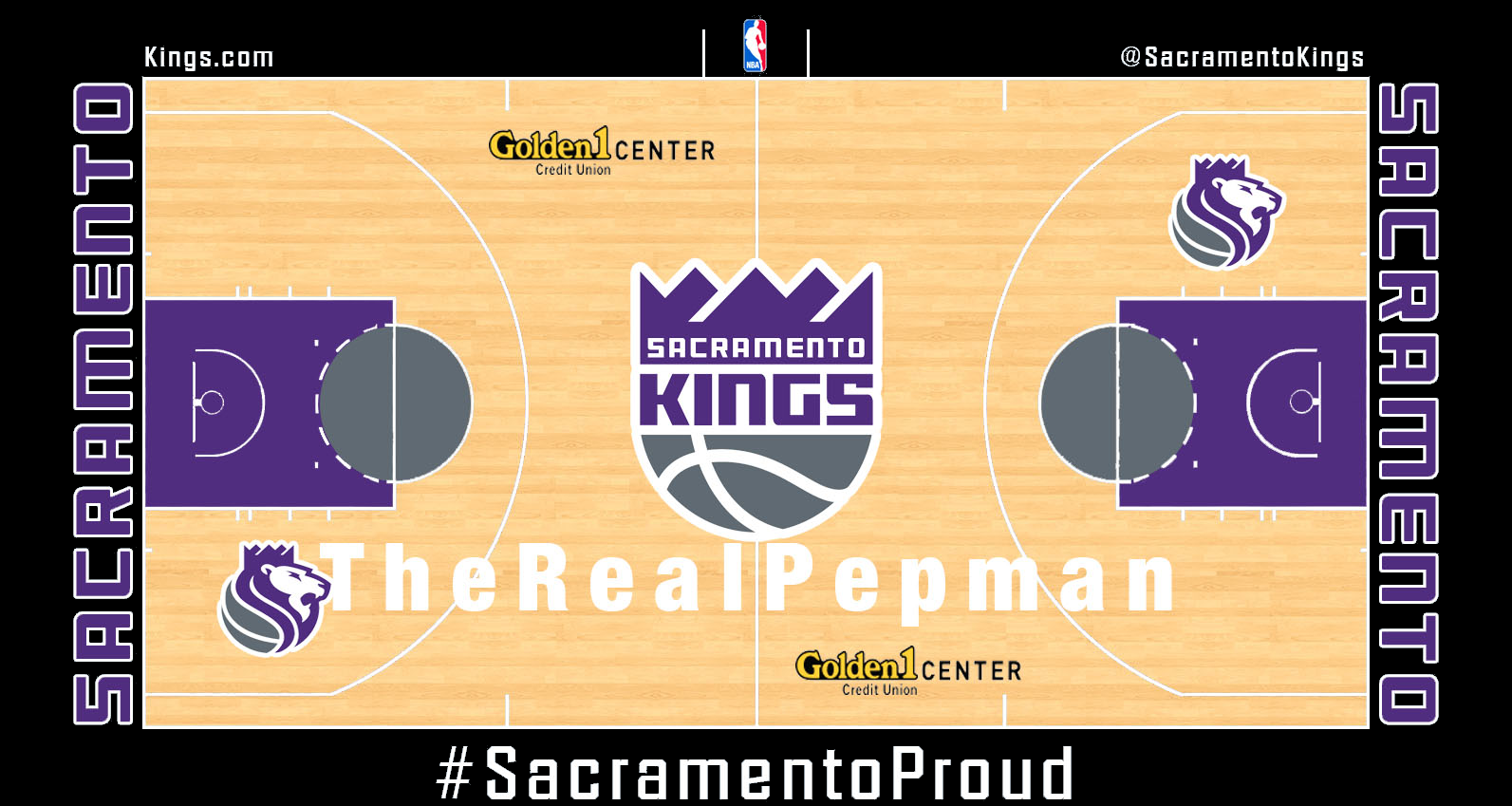 Sacramento Kings Concept Court Sacramento Kings Basketball Court Layout King