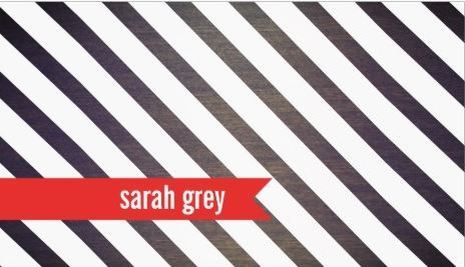 Bold black white stripes red ribbon on faux wood business cards http bold black white stripes red ribbon on faux wood business cards httpwww reheart Image collections