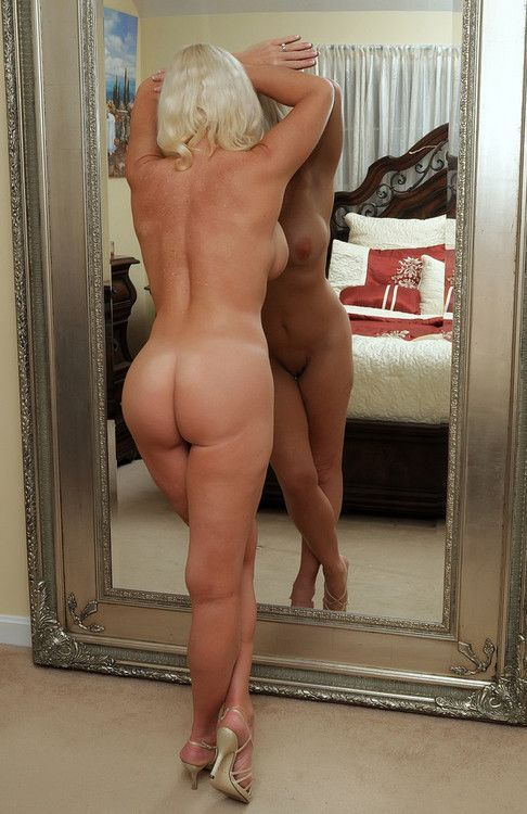 Mature wife rear view