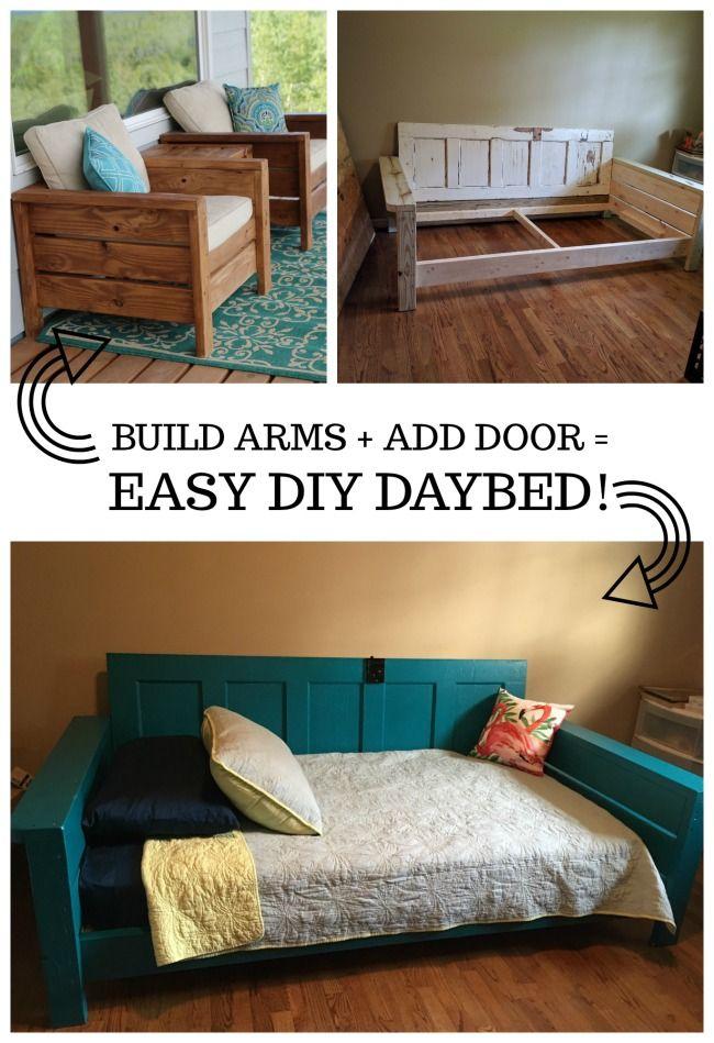 Door Daybed Diy Daybed Diy Bed Daybed