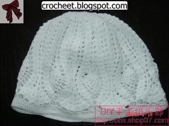 عالم الكروشيه قبعات كروشيه بالباترون Crochet Hats Crochet Crochet Scarf