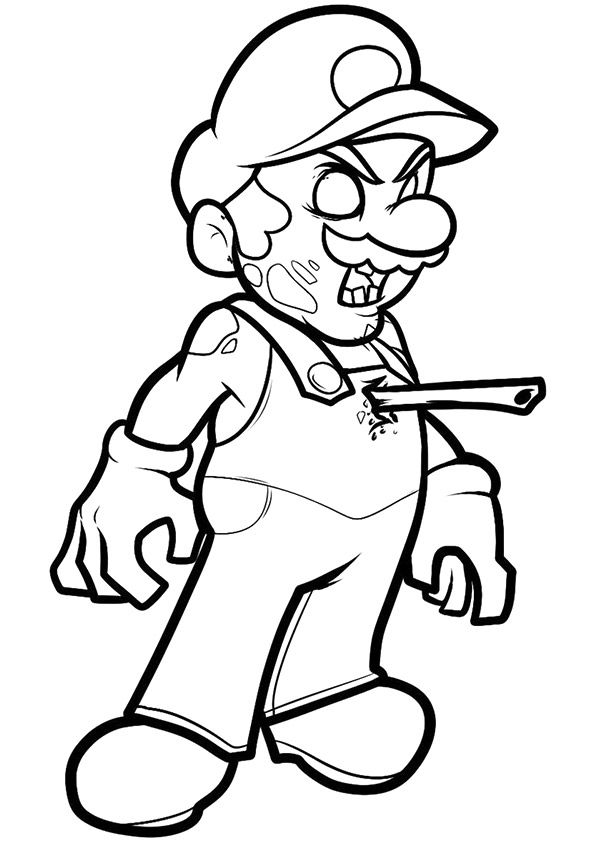 Click Share This Story On Facebook Mario Coloring Pages Monster Coloring Pages Avengers Coloring Pages
