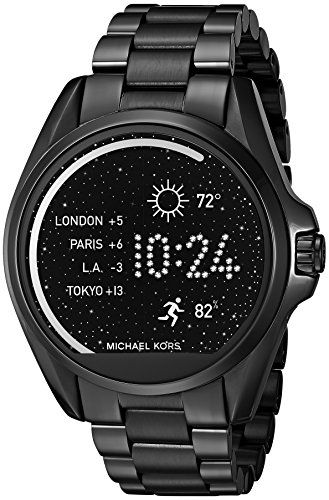 Michael Kors Access Touch Screen Black Bradshaw Smartwatch MKT5005     Find  out more about the great product at the image link. 8850a3078ae