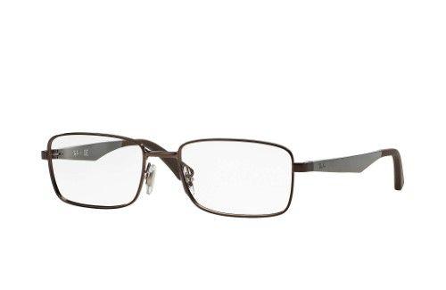 619f685b88 Ray-Ban Optical 0RX6333 2511 54 Shiny Dark Brown Active Lifestyle Eyeglasses