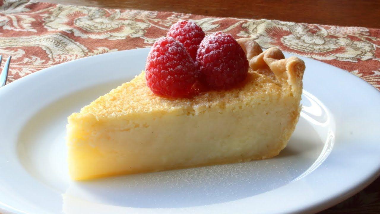 Buttermilk Pie Southern Style Buttermilk Pie Recipe Youtube Buttermilk Pie Recipe Buttermilk Pie Food Wishes