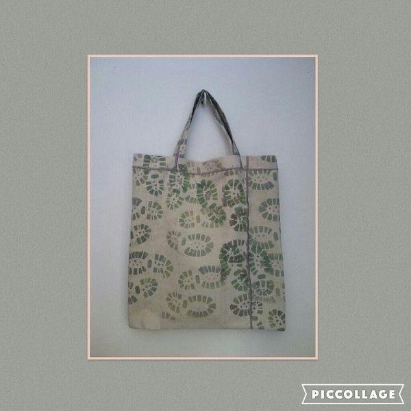 Boodschappentassen - Boodschappentas, handmade dessin - Een uniek product van Textile-meeting-point op DaWanda