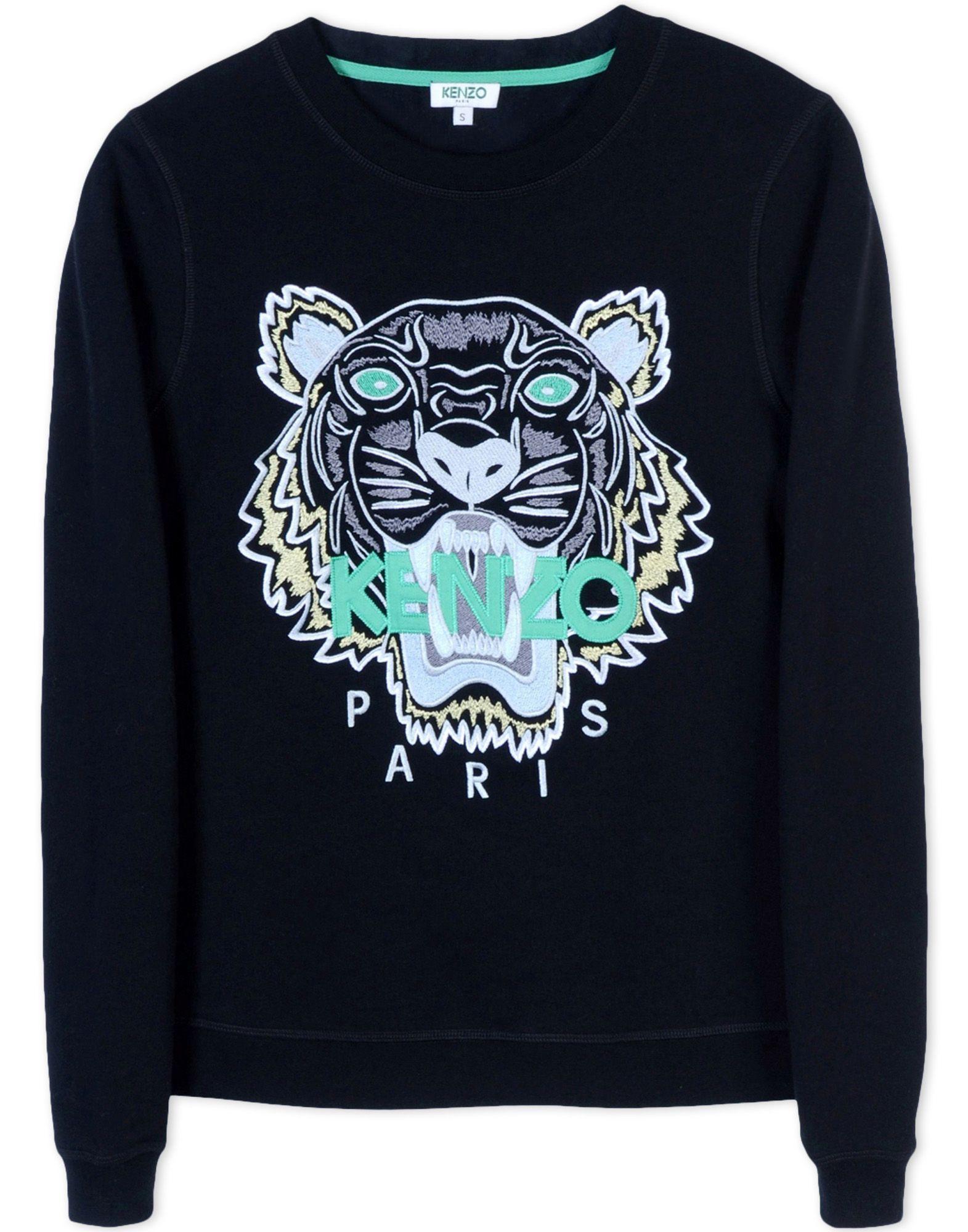 Kenzo Kenzo Mujer Thecorner Com Sweatshirts Kenzo Sweatshirt Black Cotton Sweatshirt [ 2000 x 1571 Pixel ]