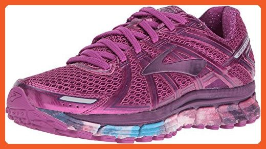 Brooks Adrenaline Gts 17 Night Sky Hollyhock Gloxnia Women S Running Shoes Athletic Shoes For Women Amazon Partner Womens Running Shoes Running Women Women