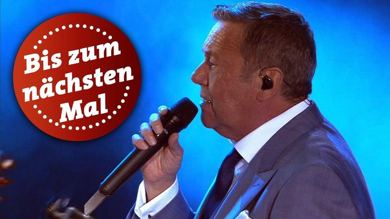 Roland Kaiser Bis Zum Nachsten Mal Kaisermania 2018 Mdr Youtube Kaiser Musik Youtube