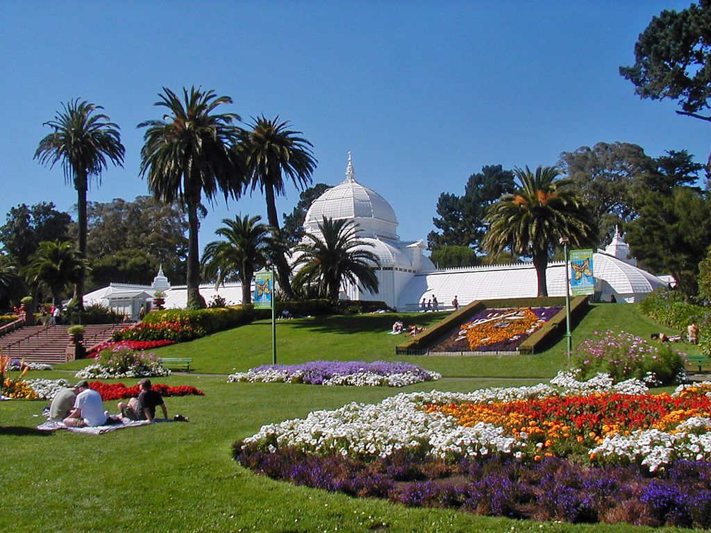 Beau Conservatory Of Flowers In Golden Gate Park, San Francisco, California  Photo Credit: WolfmanSF