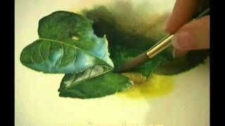 Watercolor Techniques - Lost and Found Edges, via YouTube.