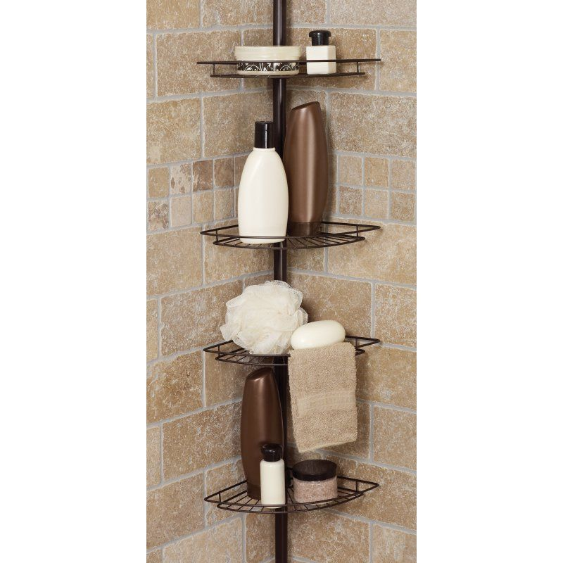 Zenith Tub And Shower Tension Pole Caddy E2114hb Bathroom