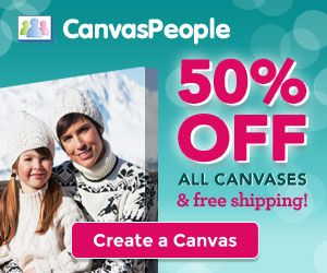 Canvas People 50 Off All Canvases Plus Free Shipping Money
