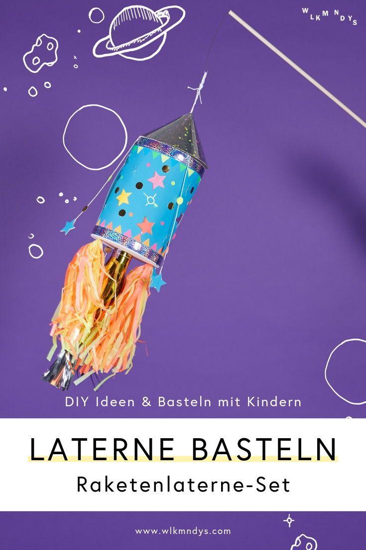 DIY Blog und Ideen: Basteln, Deko und Geschenke - WLKMNDYS #laternebastelnkinder