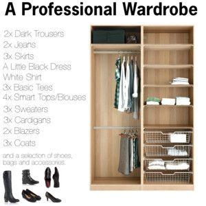 A professional wardrobe capsule wardrobe for Minimalistischer kleiderschrank