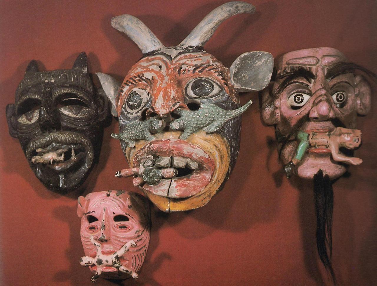 Mexican paper mache vintage judas sculpture folk art at 1stdibs - Mexican Art
