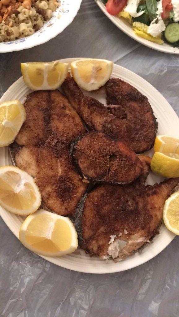 سمك بالفرن Food Yummy Food Yummy