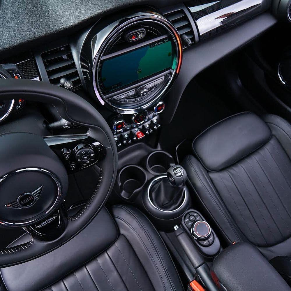 The MINI Hatch. Beautiful Inside And Out. #mini #minicar