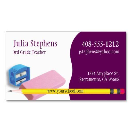 Teacher mentor or tutor business card teacher business cards teacher mentor or tutor business card colourmoves