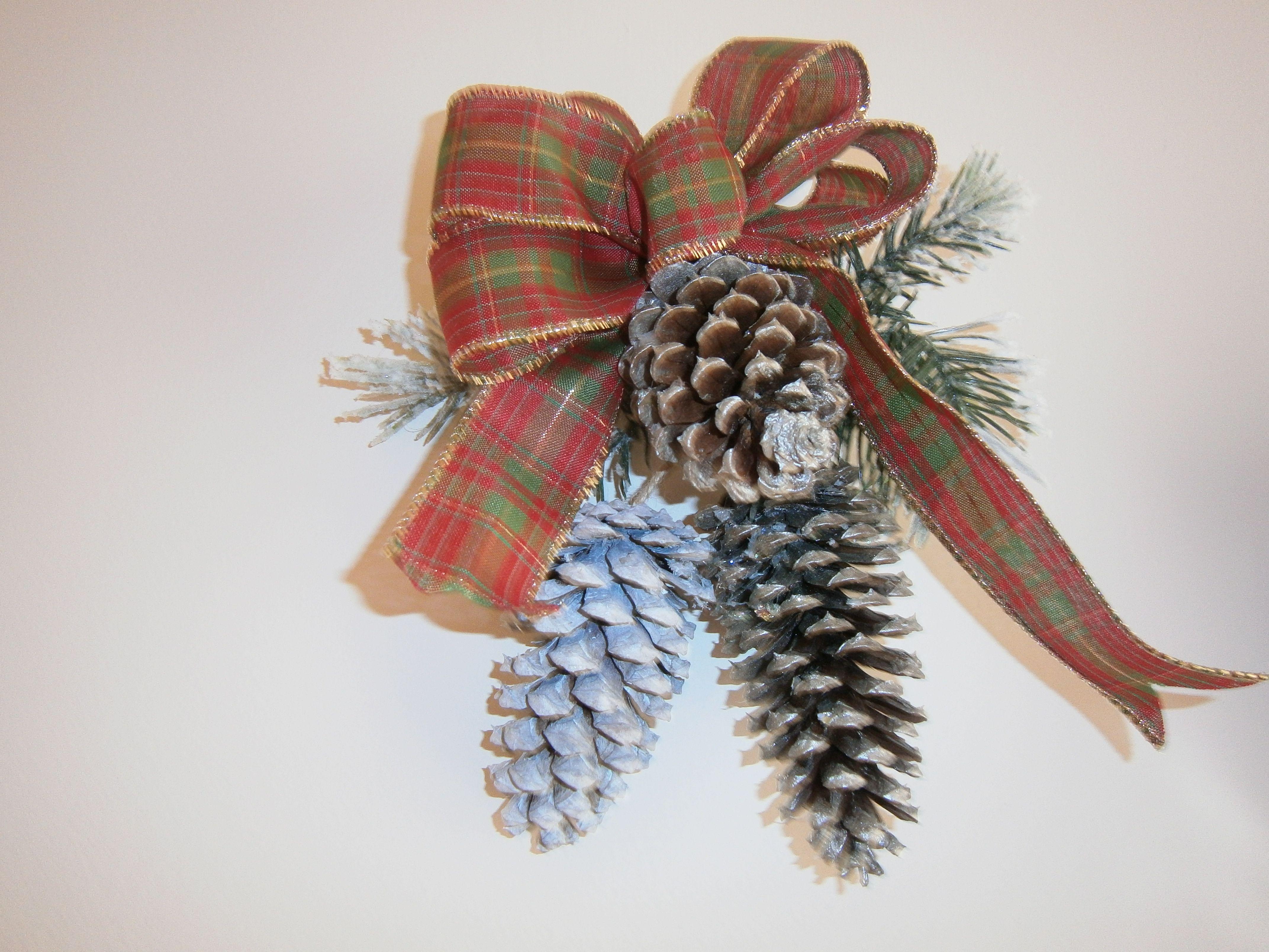 pine cone ornament pine cone ornaments pinterest. Black Bedroom Furniture Sets. Home Design Ideas