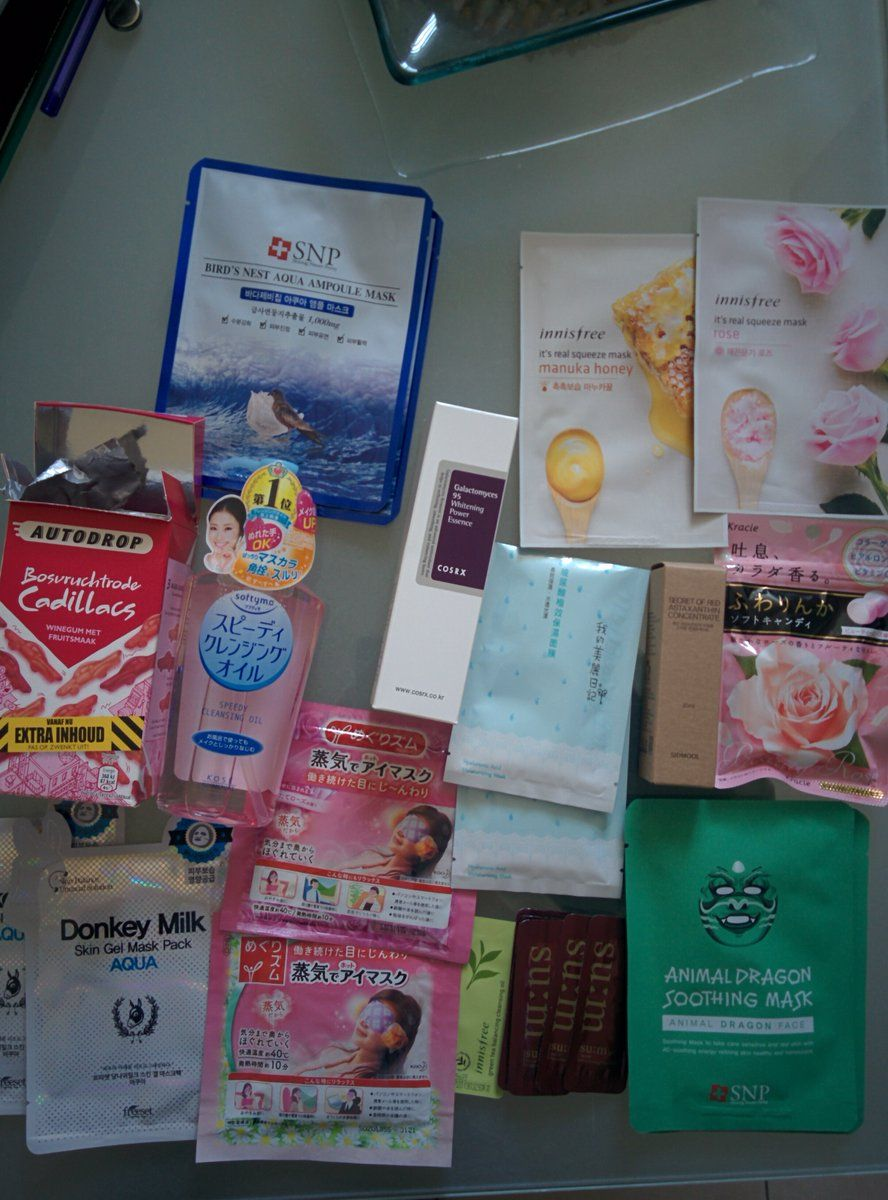 What I got in the Reddit Asian Beauty exchange! | Skincare
