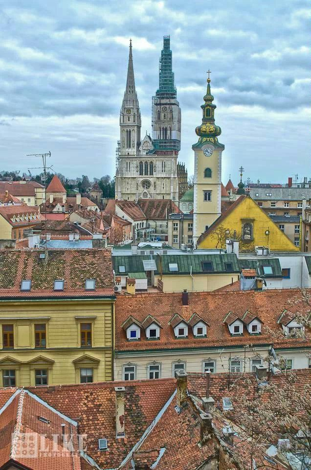 Zagreb Zagreb Cathedral Croatia