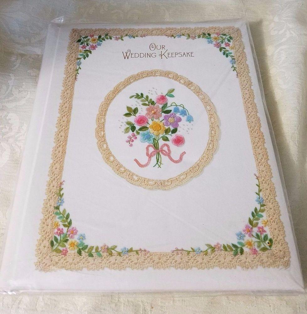 New Unused Vintage Wedding Scrapbook Photo Keepsake Album Hallmark