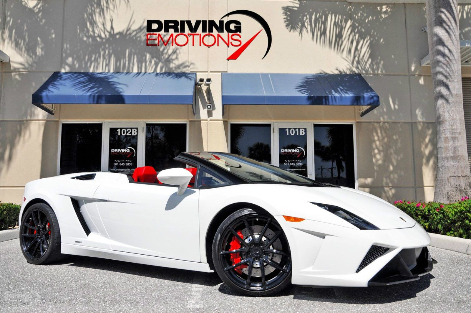 Used 2013 Lamborghini Gallardo Spyder LP Spyder Stock # 5972 In Lake Park,  FL At Driving Emotions, FLu0027s Premier Pre Owned Luxury Car Dealership.