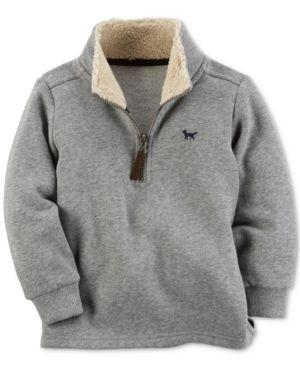 081f4f508 Carter s Fleece-Lined Mock Neck Sweater