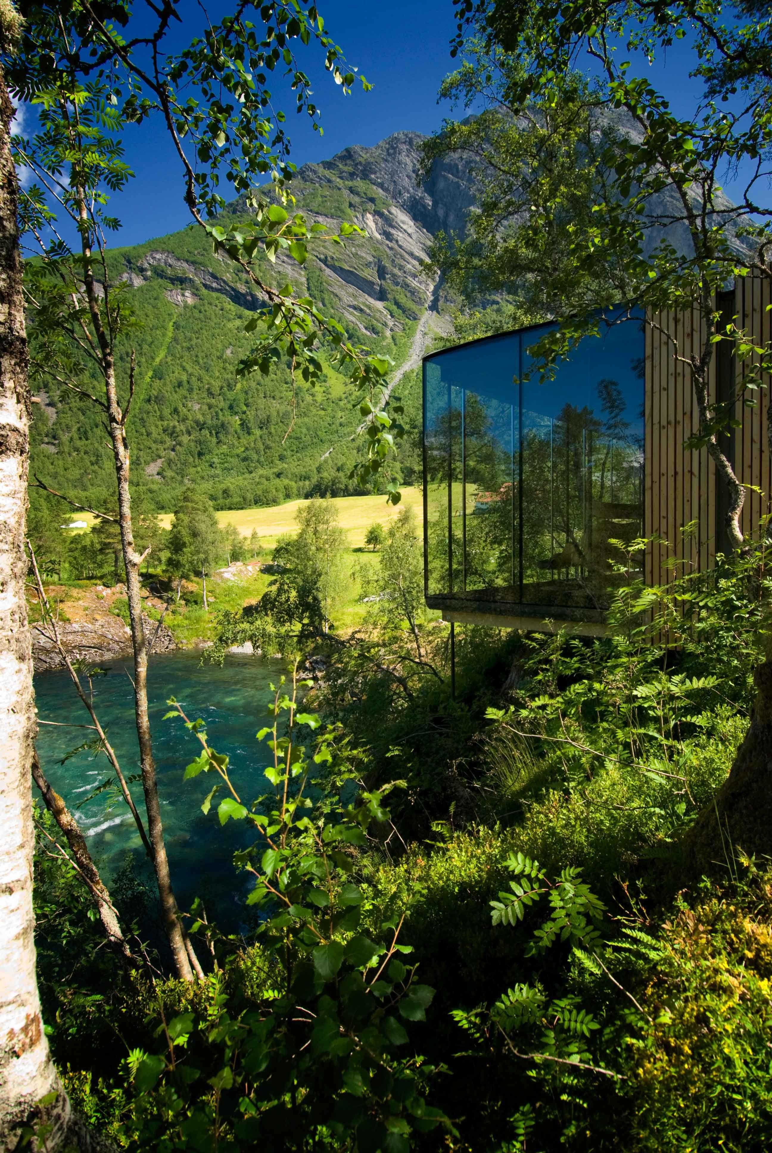 Wanderlust Juvet Landscape Hotel In Noorwegen Architecture