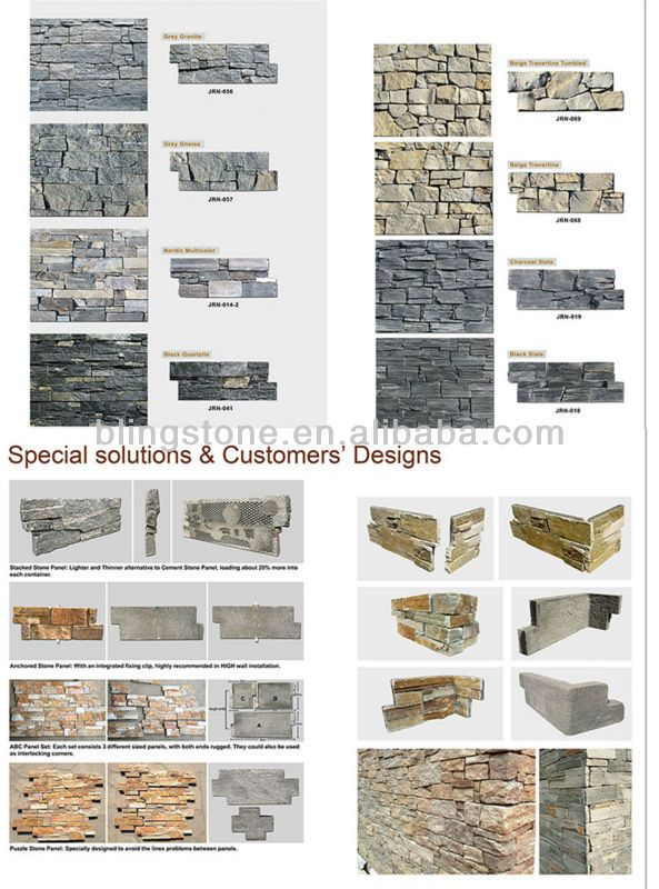 Decorative Gold Stone Exterior Wall Cladding - Buy Exterior Wall ...