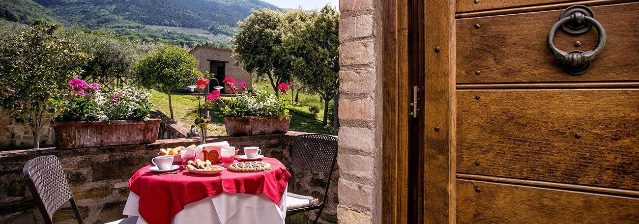 Appartamenti, case vacanze e agriturismo in Umbria San