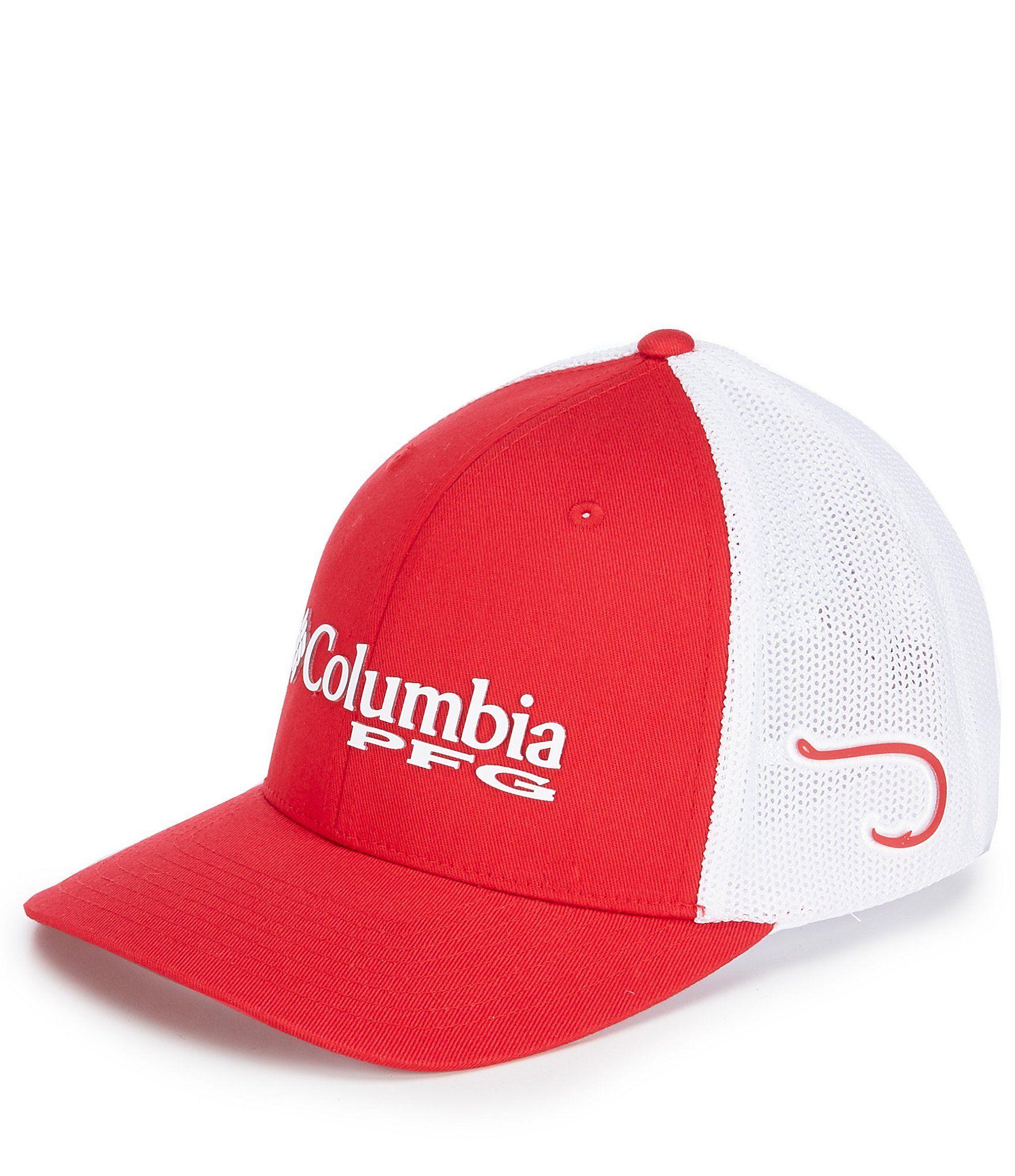 Columbia Pfg Mesh Trucker Cap Dillard S In 2021 Country Hats Columbia Columbia Hat