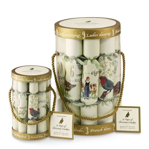 Williams Sonoma Christmas Crackers.12 Days Of Christmas Party Crackers Williams Sonoma Love The
