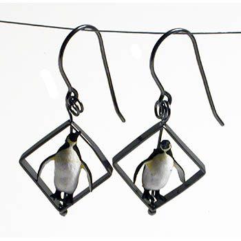 Penguin Earrings (Necklace). V #2