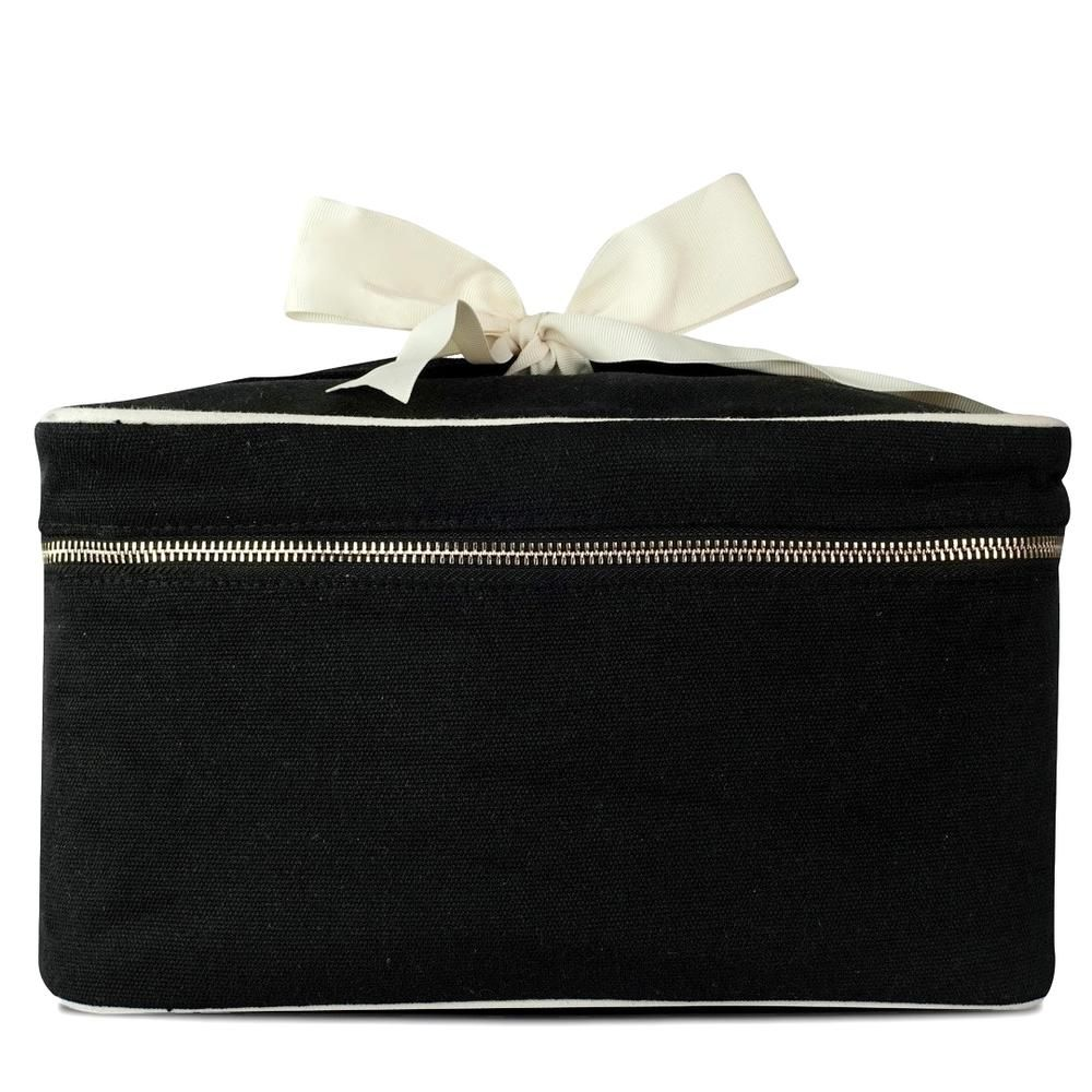 Blank Beauty Box Large Black