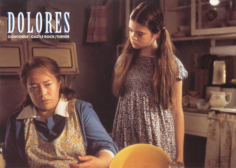 Dolores Claiborne 1995 Dolores Claiborne Stephen King Movies Stephen King