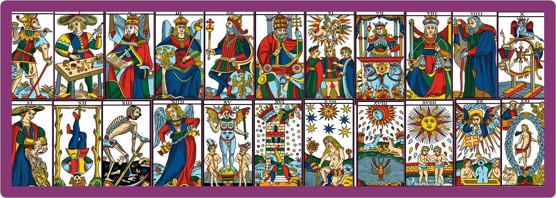 Tarot De Marseille Les Arcanes Majeurs Divinatix Tarot De