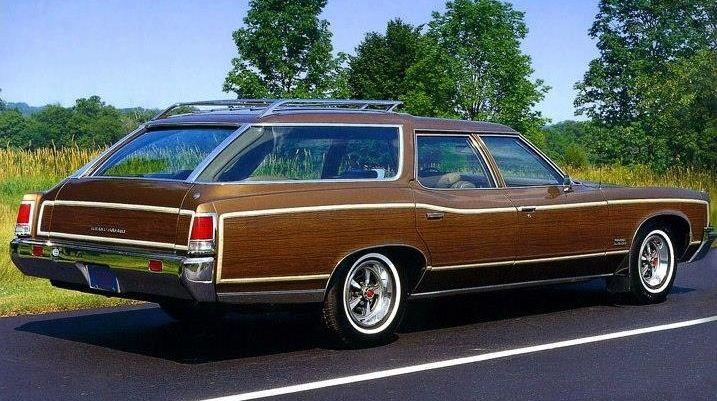 1972 Pontiac Grand Safari Station Wagon Cars Pontiac