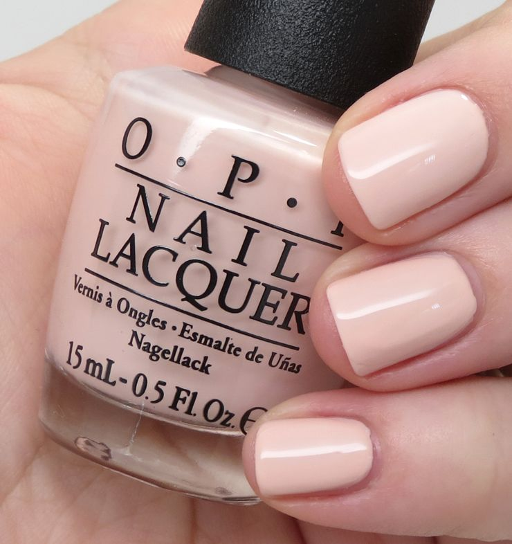opi Stop it I\'m Blushing! — This warm baby peach required a very ...