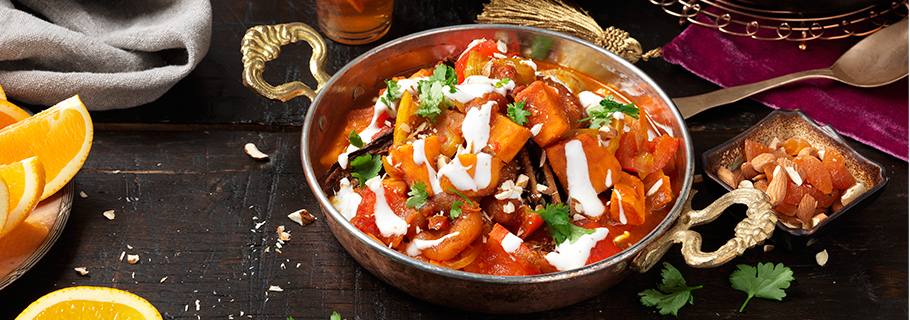 tagine recept vegetarisk