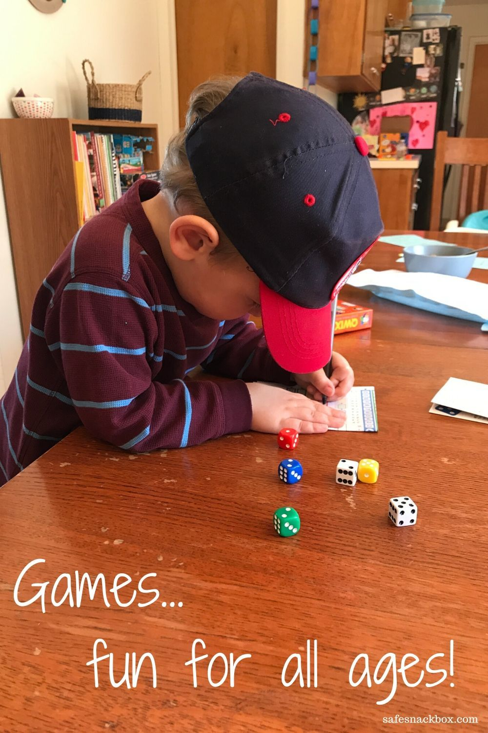 A list of games to play with family members of all ages