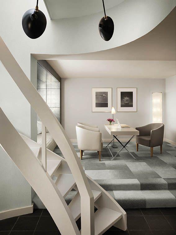 Andree putman morgans hotel new york