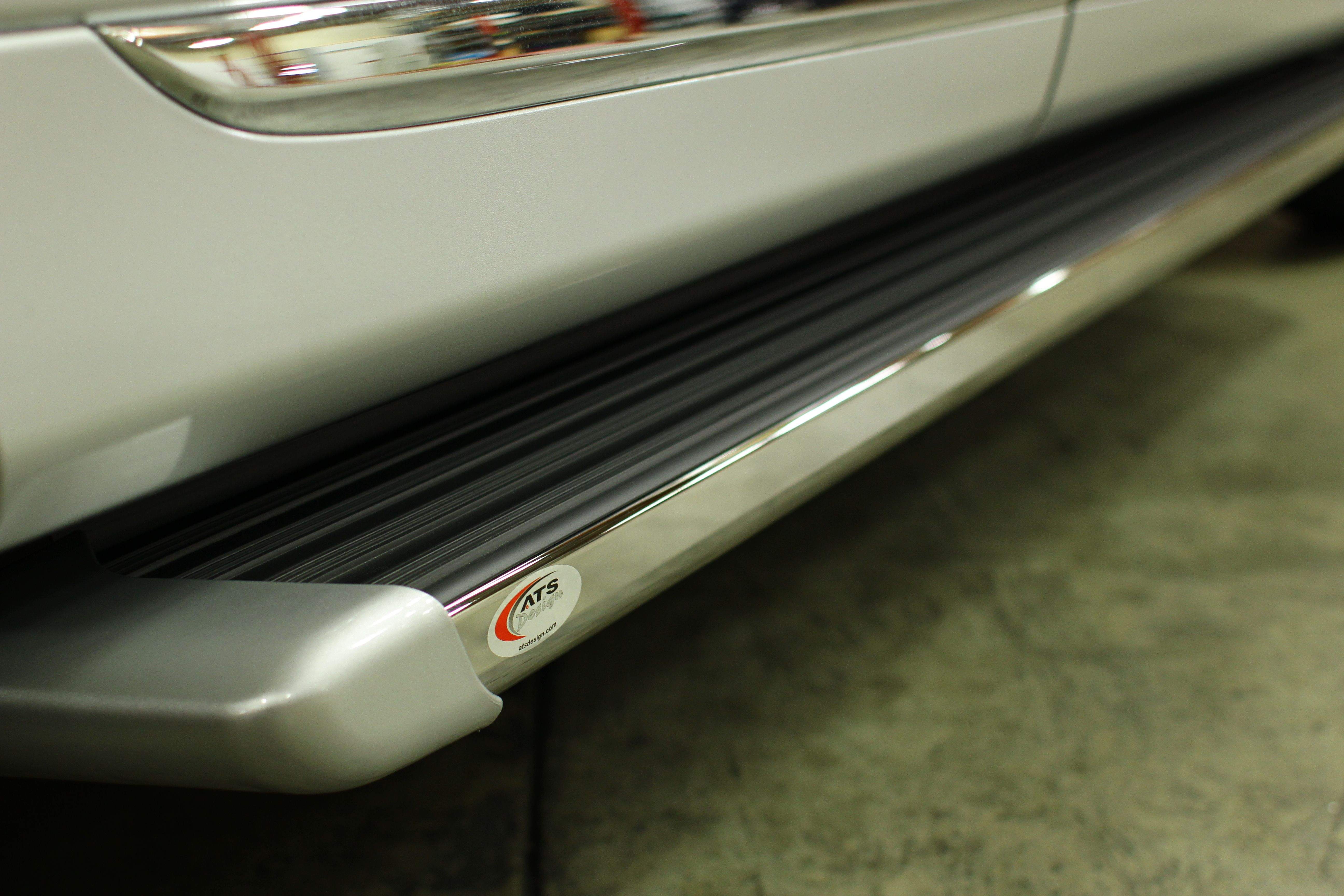 Painted To Match Matrix Series Running Boards By Ats Design View