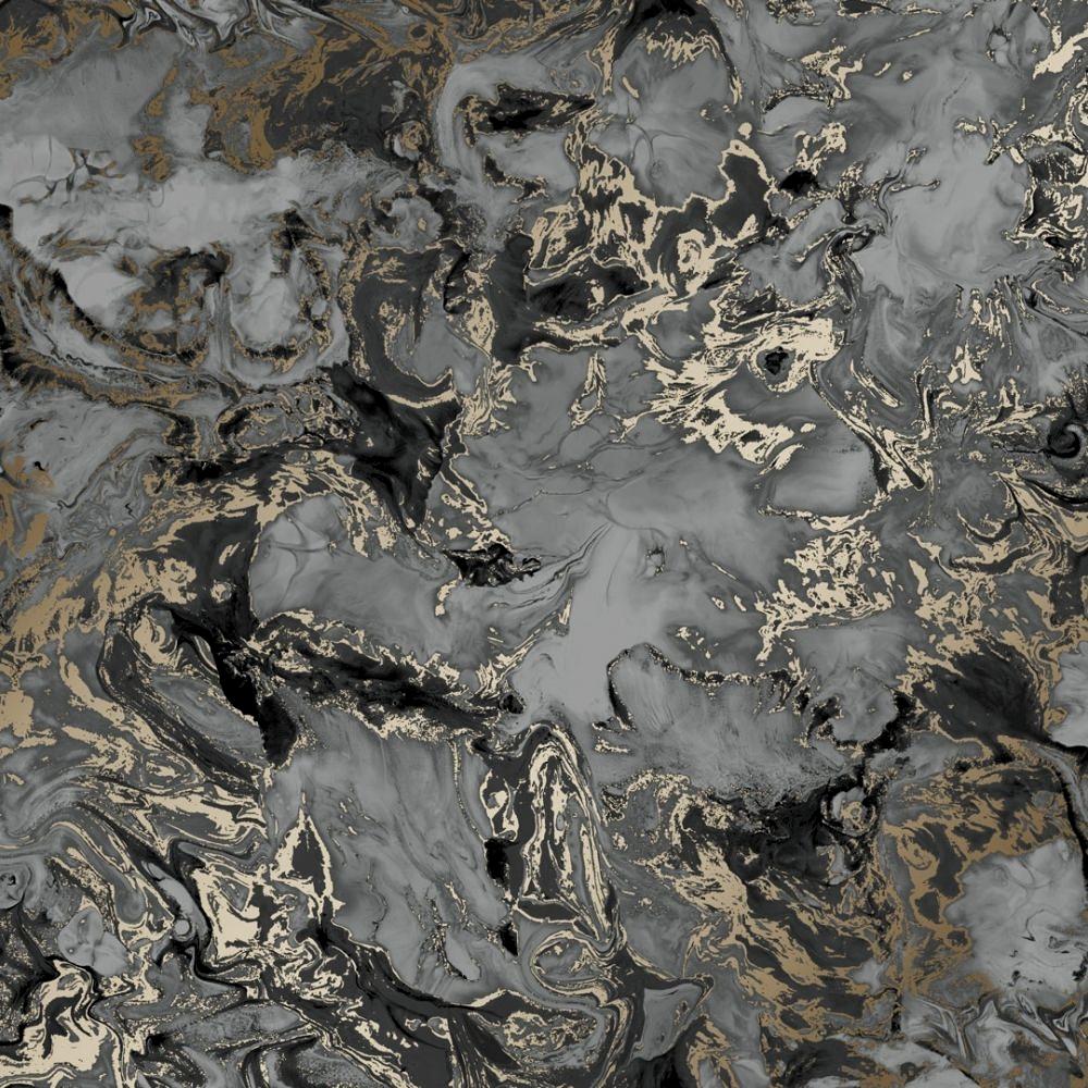 Liquid Marble Wallpaper Charcoal Gold Wallpaper From I Love Wallpaper Uk Marble Wallpaper Gold Marble Wallpaper Gold Wallpaper