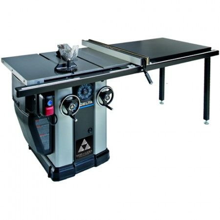 Delta Unisaw 36 L352 3 Hp Motor 10 In Unisaw With 52 In Biesemeyer Fence System Delta Table Saw Delta Power Tools Table Saws