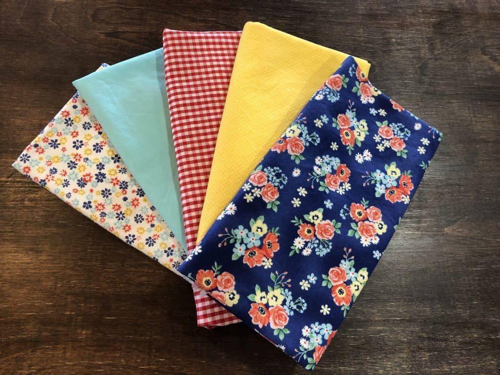 Sew Handmade Cloth Napkins #clothnapkins Sew Handmade Cloth Napkins - Happiest Camper #clothnapkins