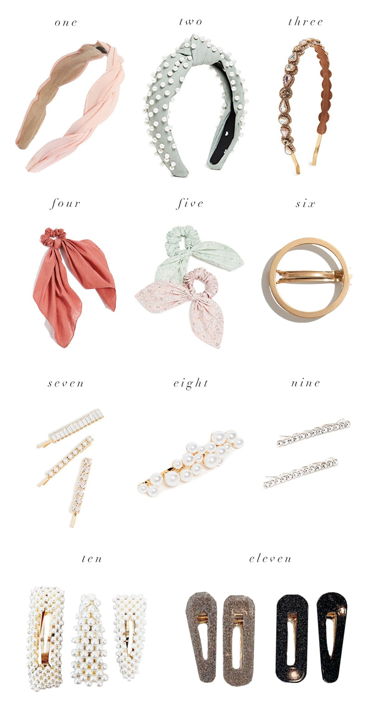 Hair Accessories Edit... - Rach Parcell