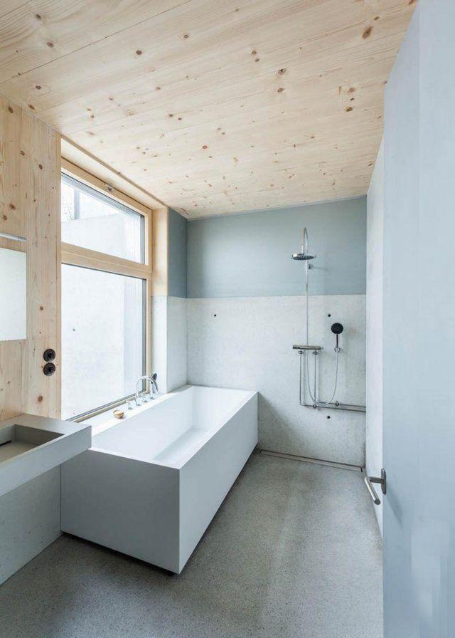 Une salle de bain bicolore - Marie Claire Maison
